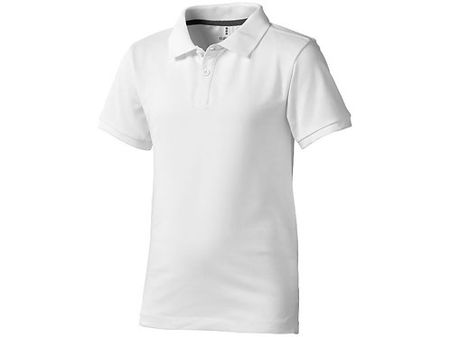 """Рубашка поло """"Calgary"""" детская, белый"""