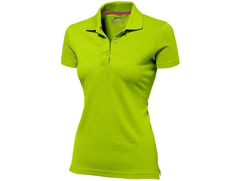 """Рубашка поло """"Advantage"""" женская, зеленое яблоко"""
