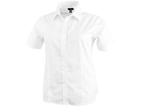 """Рубашка """"Stirling"""" женская с коротким рукавом, белый"""