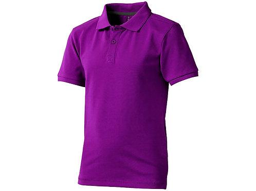 """Рубашка поло """"Calgary"""" детская, темно-фиолетовый"""