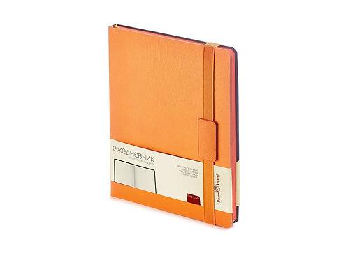 Ежедневник В5 недатированный «Leggenda», оранжевый