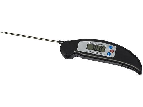 Термометр для барбекю, черный