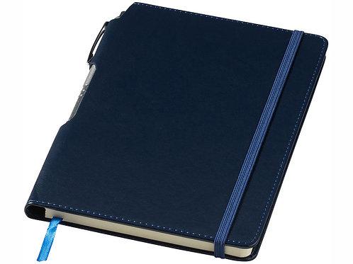 "Блокнот А5 ""Panama"" с ручкой, синий"