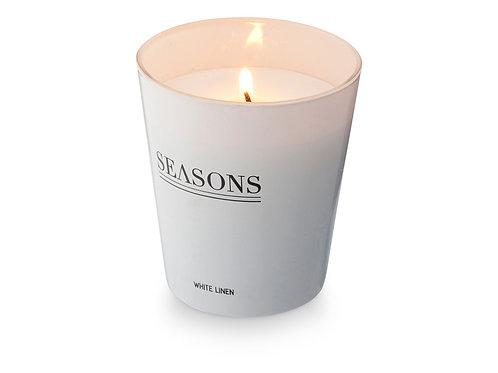 Ароматизированная свеча Lunar от Seasons, белый