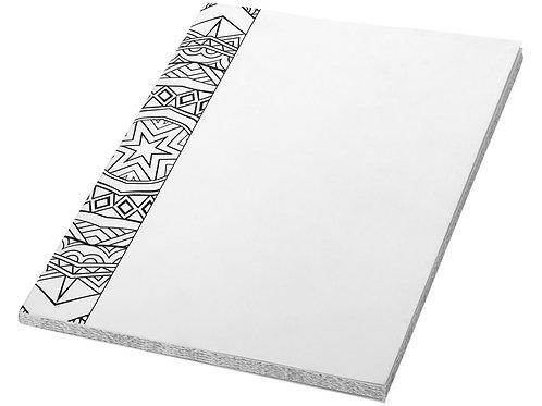 """Блокнот А5 """"Doodle Colour Therapy"""", белый/черный"""