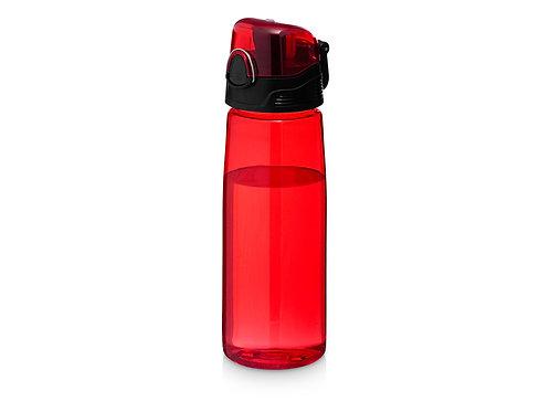 """Бутылка спортивная """"Capri"""", красный"""