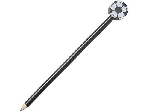 Карандаш «Футбольный мяч», черный