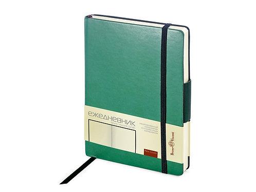 Ежедневник А5 недатированный «Zenith», темно-зеленый