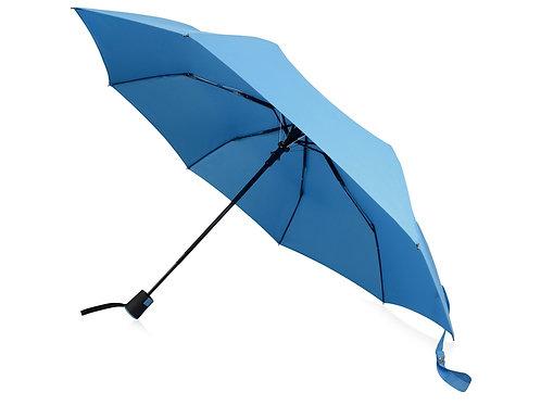 "Зонт Wali полуавтомат 21"", голубой"