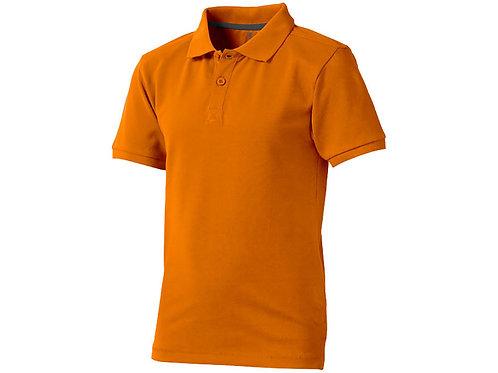 """Рубашка поло """"Calgary"""" детская, оранжевый"""