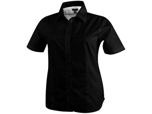 """Рубашка """"Stirling"""" женская с коротким рукавом, черный"""