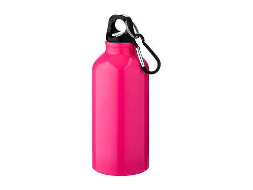 """Бутылка """"Oregon"""" с карабином, неоновый розовый"""