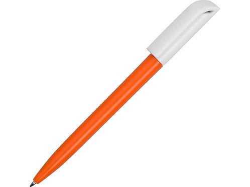 Ручка пластиковая шариковая «Миллениум Color BRL», оранжевый/белый