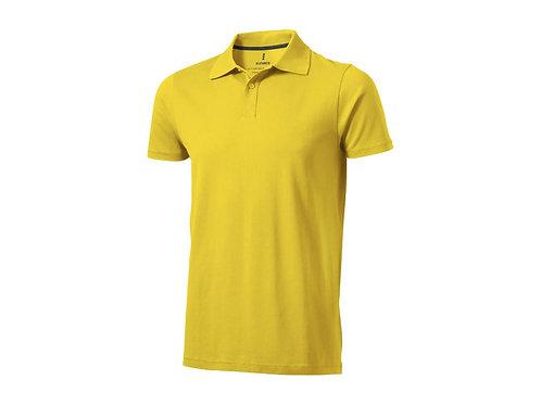 "Рубашка поло ""Seller"" мужская, желтый"