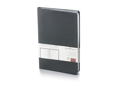 Ежедневник недатированный  А5 «Grand» черный