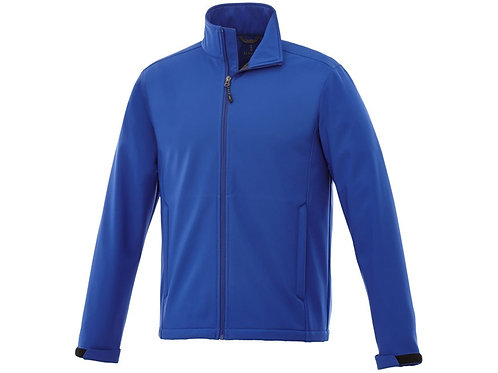 "Куртка софтшел ""Maxson"" мужская, кл. синий"