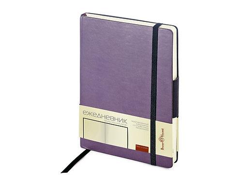 Ежедневник А5 недатированный «Zenith», фиолетовый