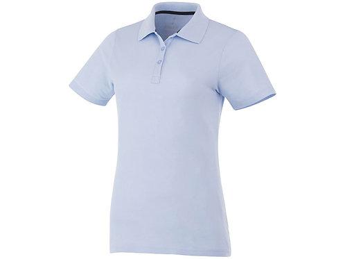 Рубашка поло «Primus» женская, светло-синий