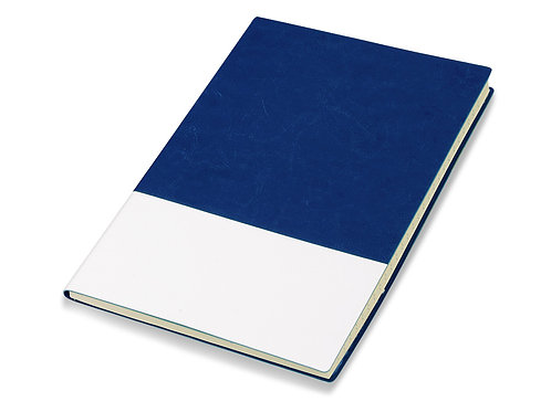 "Блокнот ""Fusion"", синий/белый. Lettertone"