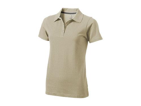 """Рубашка поло """"Seller"""" женская, хаки"""
