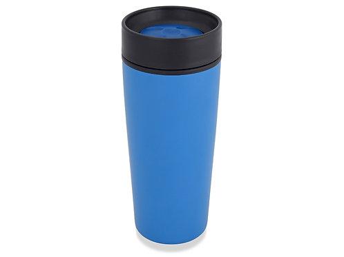 Кружка с термоизоляцией на 450 мл, синий