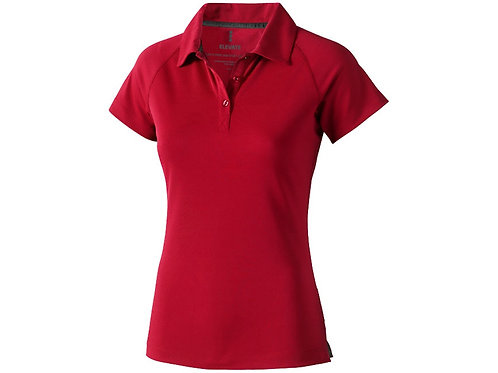 """Рубашка поло """"Ottawa"""" женская, красный"""