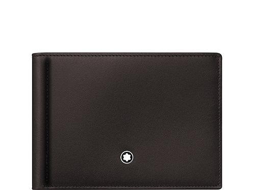 Бумажник 6сс Meisterstück с зажимом для банкнот. Montblanc