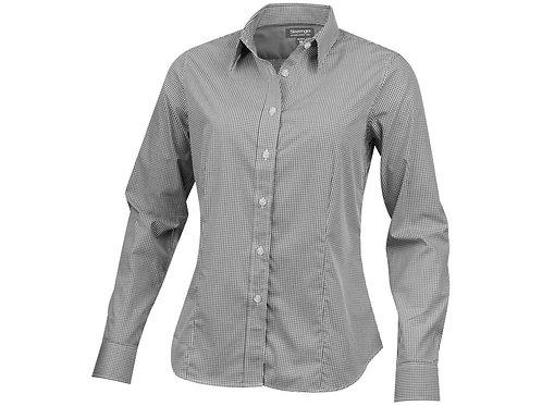 """Рубашка """"Net"""" женская с длинным рукавом, серый"""