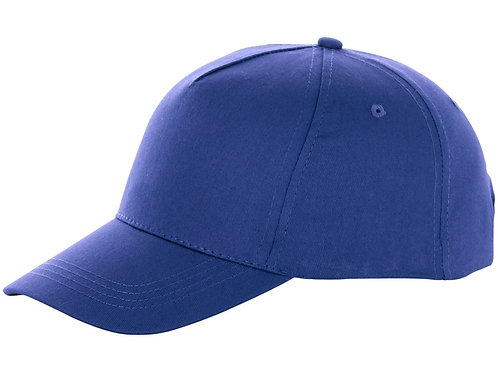 "Бейсболка ""Brunswick"", 5 панелей, синий"