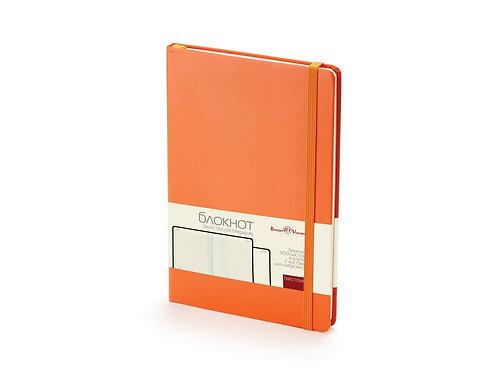 Блокнот А5 «Megapolis Journal», оранжевый