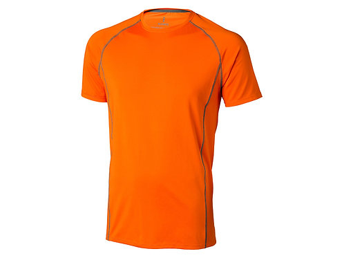"Футболка ""Kingston"" мужская, оранжевый"