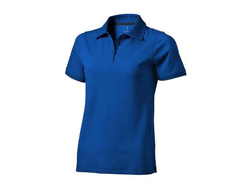 """Рубашка поло """"Yukon"""" женская, синий"""