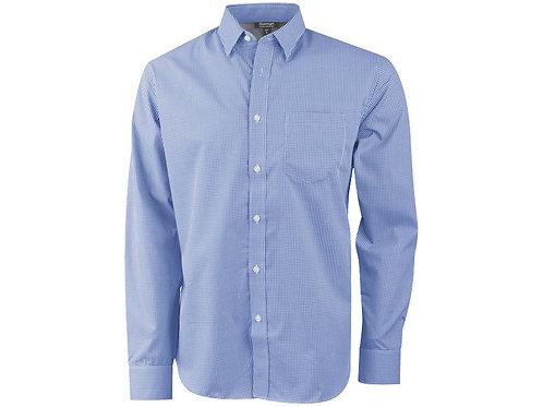 """Рубашка """"Net"""" мужская с длинным рукавом, синий"""