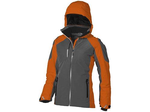 """Куртка """"Ozark"""" женская, серый/оранжевый"""