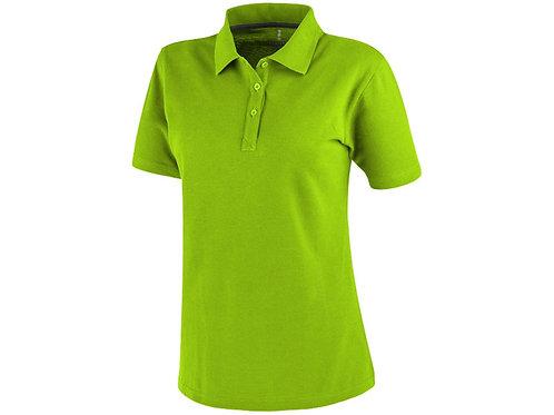 Рубашка поло «Primus» женская, зеленое яблоко