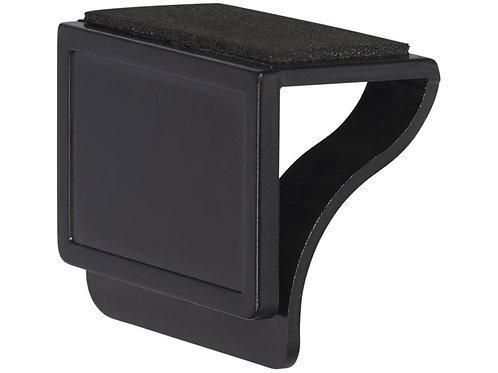 Блокировщик камеры с мягкой стороной, для очистки монитора, черный
