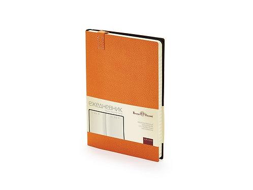 Ежедневник А5 недатированный «Trend», оранжевый
