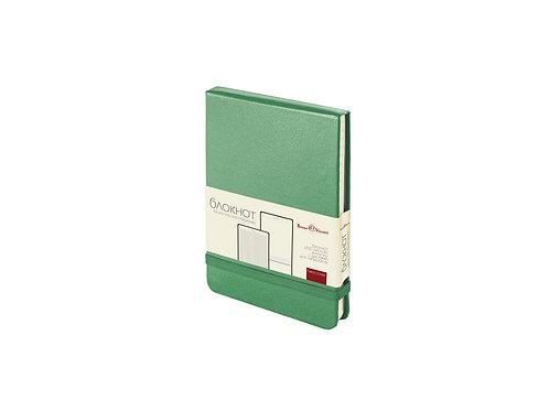 Блокнот А6 «Megapolis Reporter», зеленый