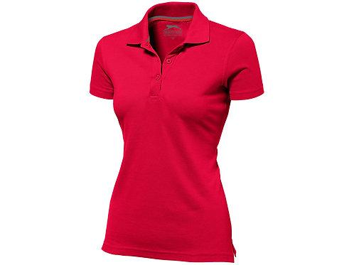 """Рубашка поло """"Advantage"""" женская, красный"""