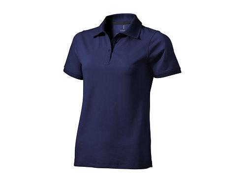 """Рубашка поло """"Yukon"""" женская, темно-синий"""