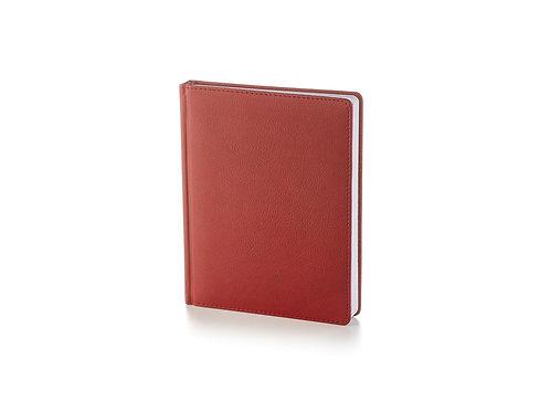 Ежедневник недатированный А6+ «Leader», бордовый