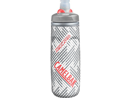 Бутылка CamelBak Podium ChilL 0,62л, серый/белый/красный