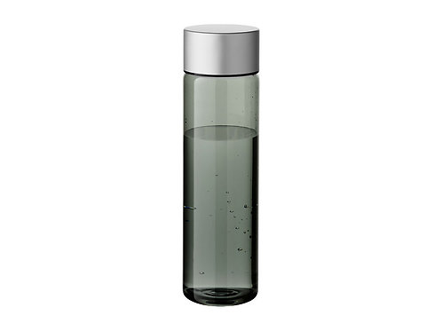 """Бутылка """"Fox"""" 900мл, черный прозрачный/серебристый"""