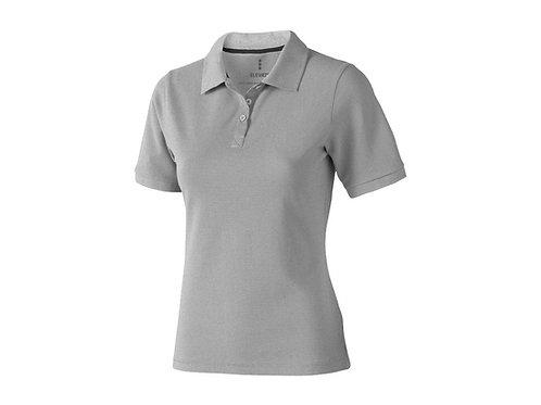 "Рубашка поло ""Calgary"" женская, серый меланж"