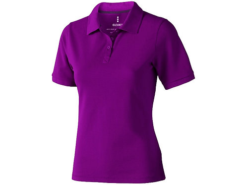 """Рубашка поло """"Calgary"""" женская, темно-фиолетовый"""