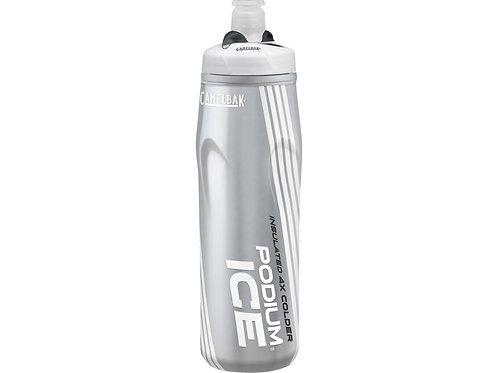 Бутылка CamelBak Podium® Ice ™ 0,62л, серебристый/белый