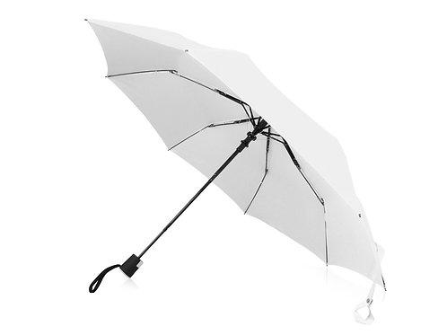 "Зонт Wali полуавтомат 21"", белый"