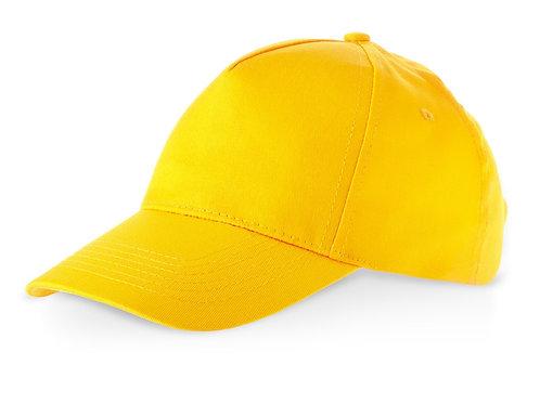 """Бейсболка """"Memphis C"""" 5-ти панельная, желтый"""