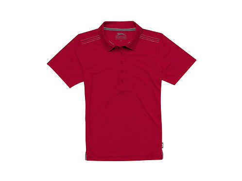 """Рубашка поло """"Receiver CF"""" женская, темно-красный"""
