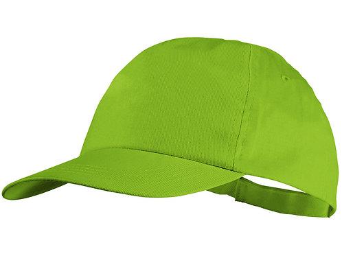 """Бейсболка """"Basic"""", 5-ти панельная, зеленое яблоко"""